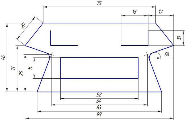 Выкройка фартука для радиатора Весты