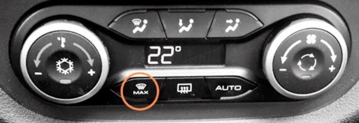 Кнопка Defrost Max на Ладе Весте комплектации {amp}quot;Люкс{amp}quot;