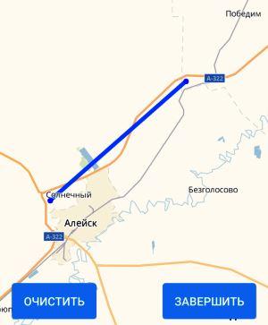 участок на карте