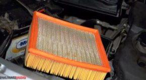 чистка воздушного фильтра