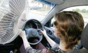 как в машине сделать прохладнее