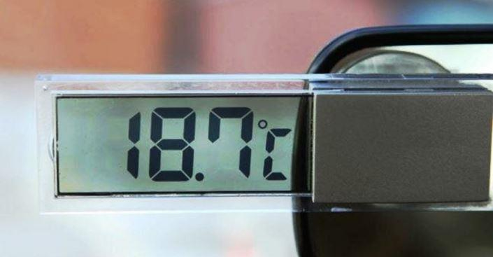 китайский термометр в машине