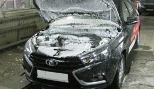 прогрев двигателя зимой лада веста
