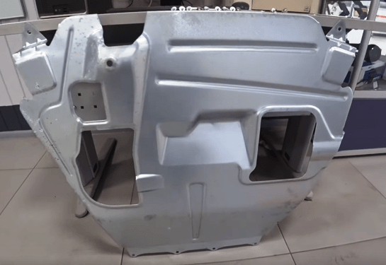 брызговик двигателя новая гранта