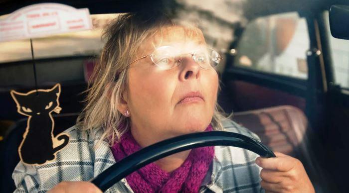 куриная слепота водитель