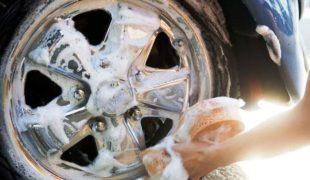 как очистить диски колес