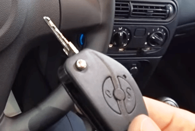 ключ с пультом нива шевроле