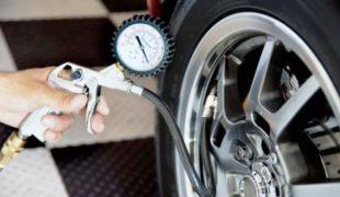 превышение давления в шинах автомобиля