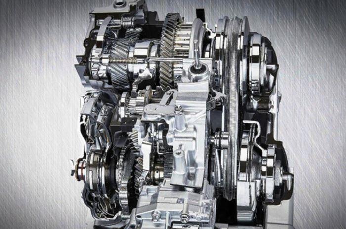вариатор с механической передачей тойота