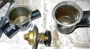 удалить термостат